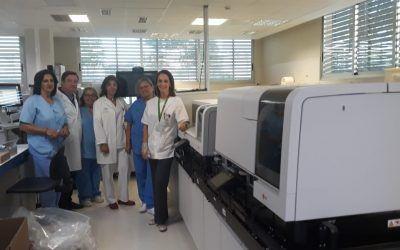 La Unidad de Análisis Clínicos del Área Sanitaria Norte de Córdoba ha instalado equipos analíticos de última generación