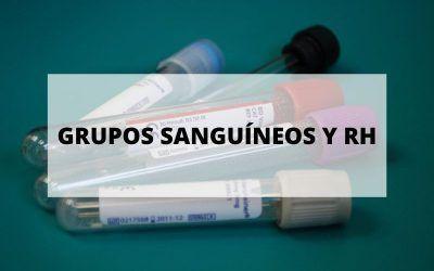 Descubre todo sobre los grupos sanguíneos y RH